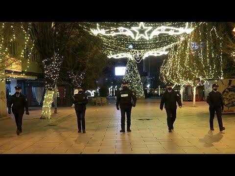 No Comment TV: Pristina's festive lights get the cold shoulder amid COVID curfew
