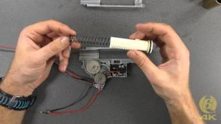 Tutorial - Tokyo Marui HK416 Next Generation Recoil Shock - Gearbox Dis-assembly & Parts Discussion