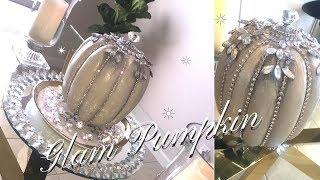 DIY*  Glam Pumpkin   Home Decor Ideas