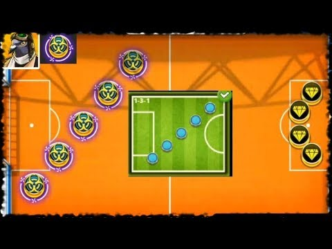 SOCCER STARS - 3 Netherlands Games With Dominos Formation