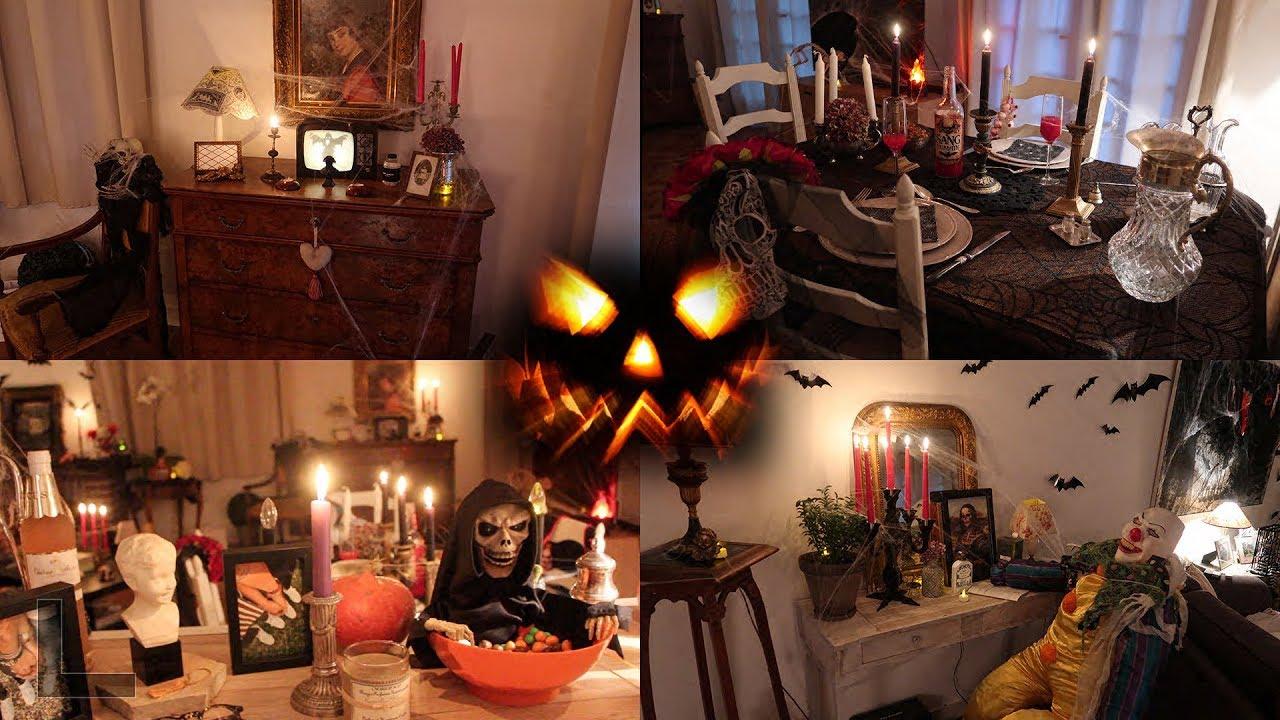 HALLOWEEN House Tour / Décoration Halloween de la maison - YouTube