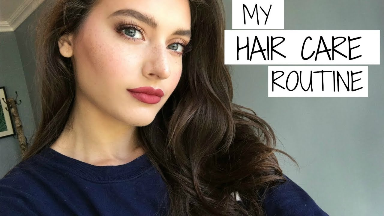 My Hair Care Routine | Jessica Clements - YouTube