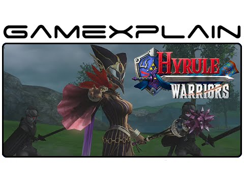 Hyrule Warriors - Cia, Volga, Wizzro Update: Game & Watch (Video Preview)
