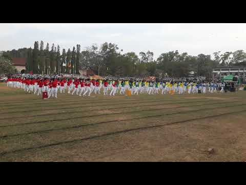 THE DRILL DISPLAY.......KULI/CENTRAL COLLEGE-KULIYAPITIYA 2018.02.16 olga