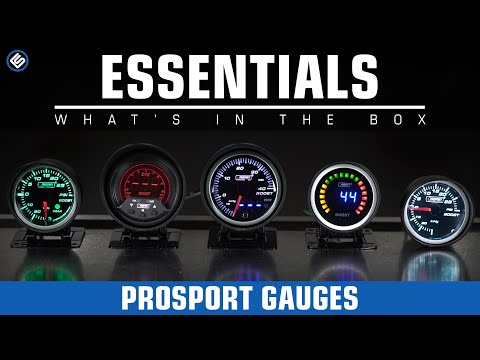 ProSport Gauges - What's In The Box?