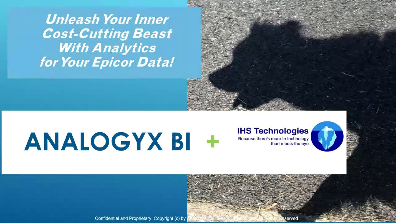 Unleash Your Inner Cost-Cutting Beast with Analogyx BI (Live Webinar Replay)
