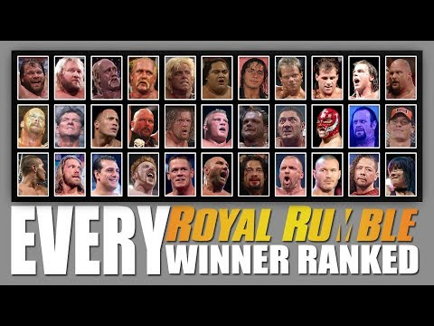 Every WWE Royal Rumble Winner Ranked From WORST To BEST!