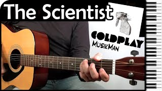 THE SCIENTIST 👨🔬🔬 - Coldplay / GUITAR Cover / MusikMan #059