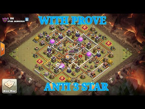 TH 11 Anti 3 star base with Prove 100% Work || #RK || By Saurav Overkill