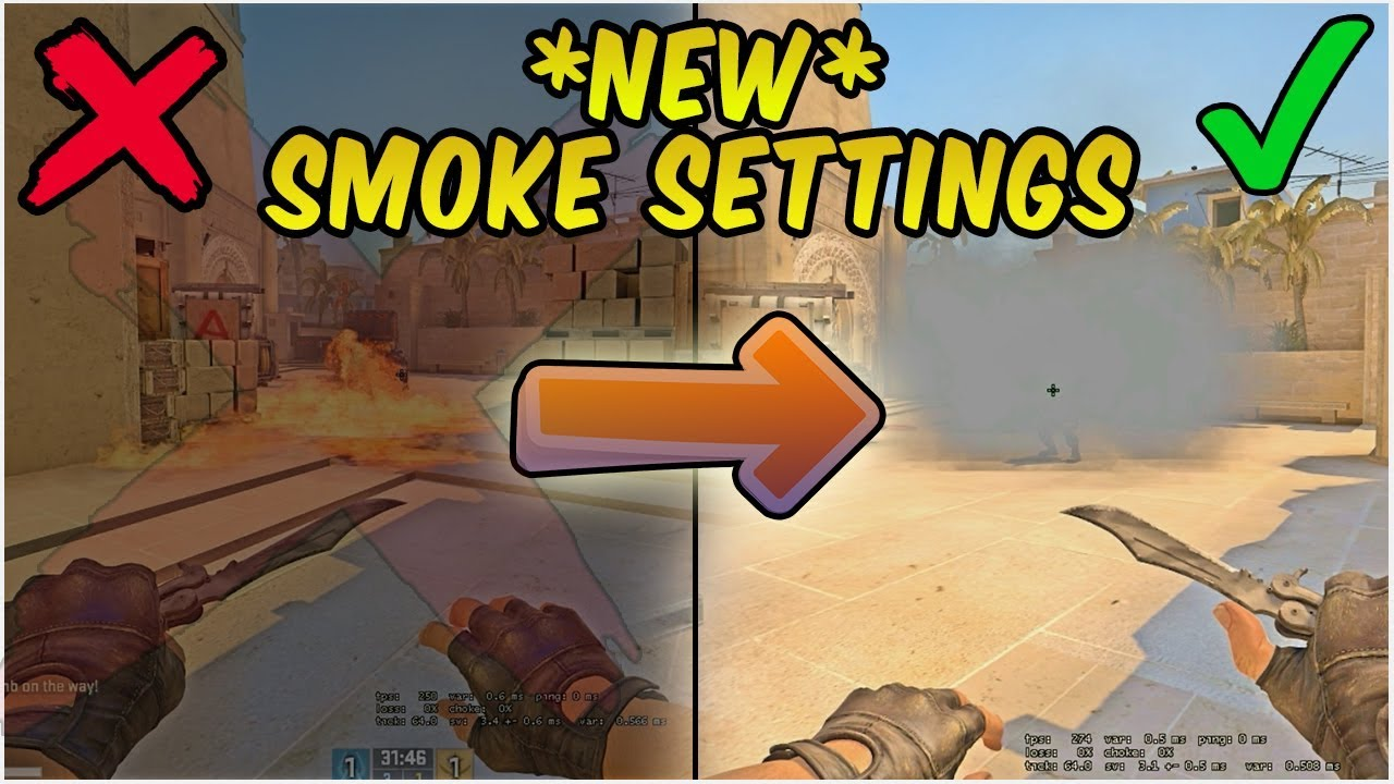 *NEW SMOKE SETTINGS REVEALED* - See Through Smokes & Molotovs (2018)