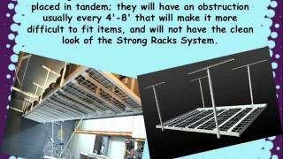 Overhead Storage Racks To Have A Neat Garage