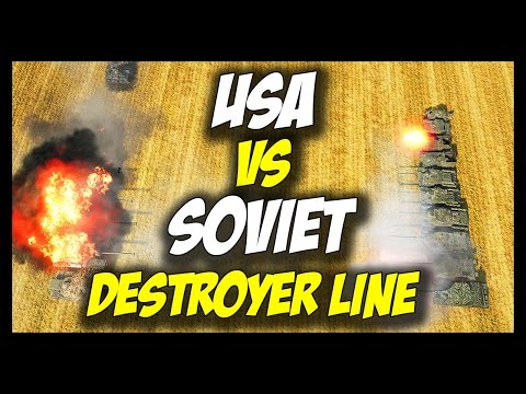 ► World of Tanks: USA vs USSR Tank Destroyer Lines - Face Off #19