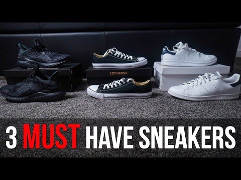 3 MUST HAVE SNEAKERS FOR SUMMER 2018