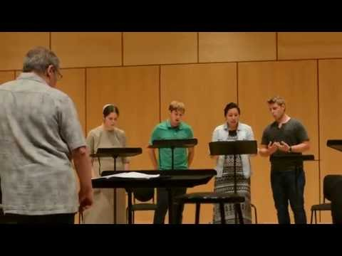 """Unclouded Day"" (Shawn Kirchner) - Laudate Mennonite Ensemble"