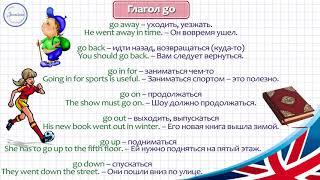 Английские глаголы с предлогами 8 класс