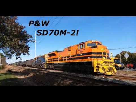 Another Good Afternoon In Wallingford, CT Featuring P&W SD70M-2 4301 10-27-17