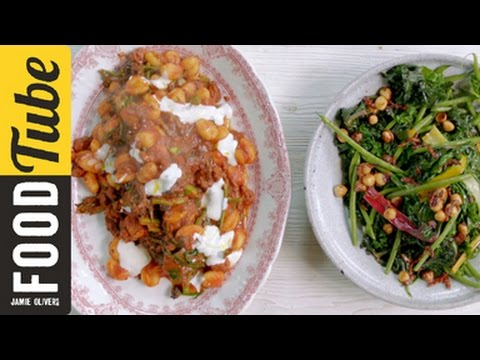 Quick Sausage Gnocchi with Warm Winter Salad | Jamie Oliver