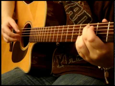 """""""3 Libras"""" Acoustic Cover - A Perfect Circle (with tab in description)"""