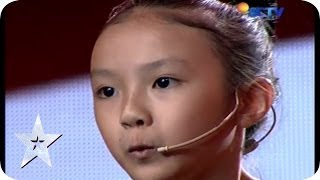 9th-Year-Old Girl with Amazing Whistling Skill - Helen Renata - AUDITION 7 - Indonesia's Got Talent