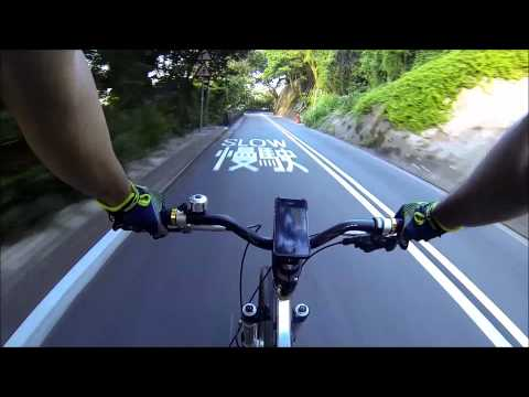 Mount Davis Road to Kennedy Town - GOPRO HERO 3 HD