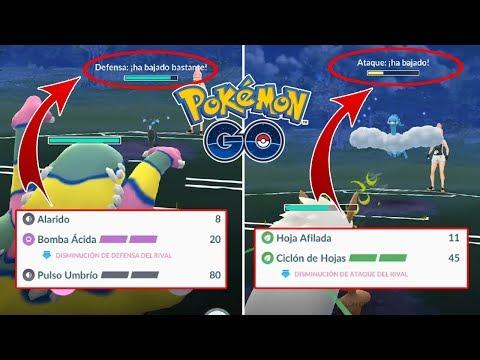 ¿COMO FUNCIONAN LOS NUEVOS MOVIMIENTOS BOMBA ÁCIDA Y CICLÓN HOJAS? [Pokémon GO-davidpetit] thumbnail