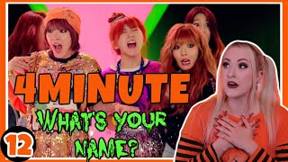 4MINUTE(포미닛) - 'What's Your Name? (이름이 뭐예요?)' | …