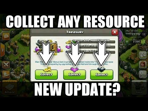 COLLECT ANY SINGLE RESOURCE!! (CONCEPT/IDEA) CLASH OF CLAN