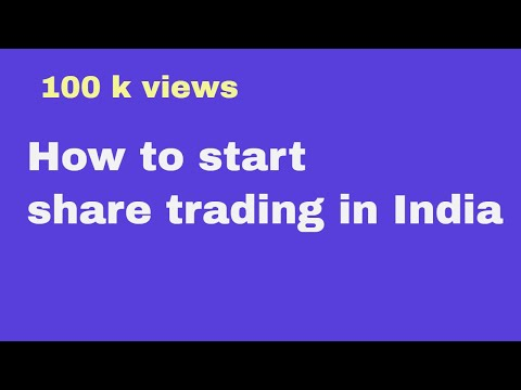 How to Start trading in india in hindi stock market -online share market