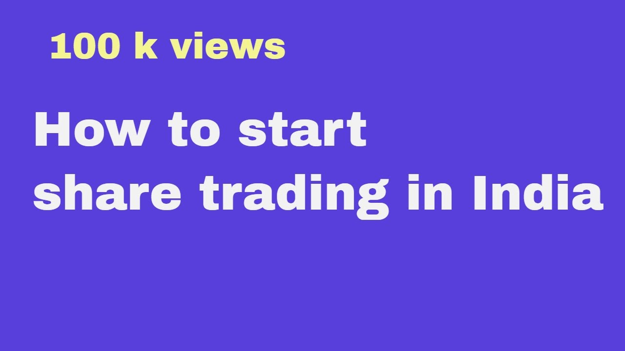 How to trade in option market in india