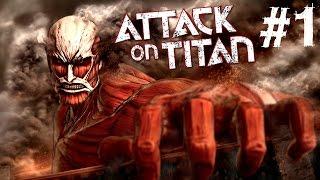 ÇIPLAK DEVLER ÜZERİMİZE GELİYOR - Attack On Titan (Shingeki No Kyojin) [TÜRKÇE][Hikaye Modu] #1