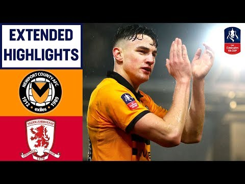Middlesbrough ROCKED by Newport! | Newport 2-0 Middlesbrough | Emirates FA Cup 18/19