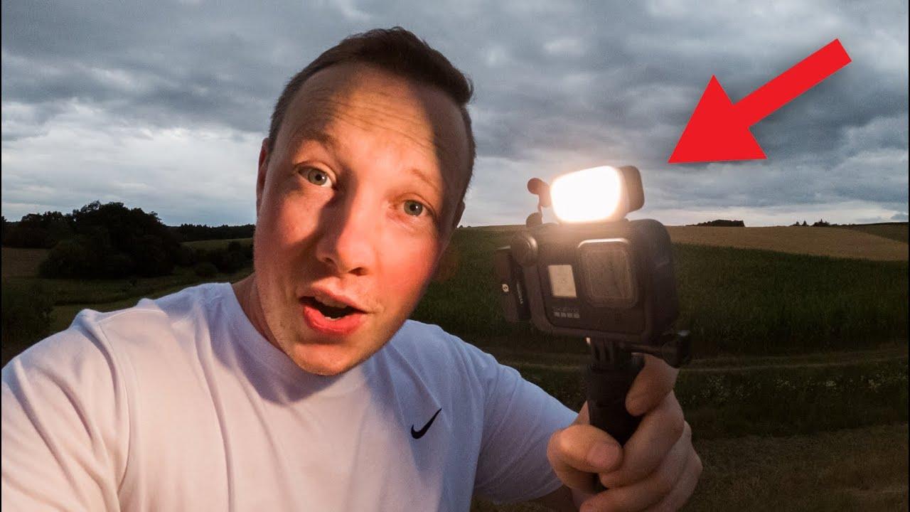Zeus Mini dieses Zubehör wertet deine GoPro auf  - Light Mod für GoPro Hero 8 Black / 7 / 6 / 5