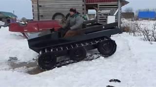 Легкий гусеничный вездеход с двигателем Lifan 15 л/с (ПРОДАЕТСЯ)
