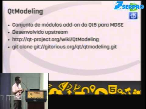 Fisl 15 - QtModeling meta modelagem e model driven software engineering com Qt5