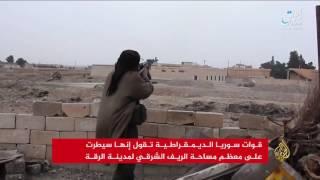 تنظيم الدولة: القصف الأميركي يهدد سد الفرات