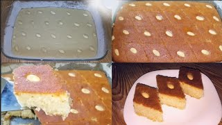 Jinsi ya kupika basbousa keki ya semolina - Basbousa recipe