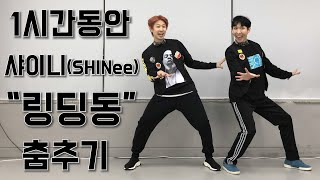 1시간동안 수능금지곡 SHINee(샤이니) Ring Ding Dong 춤추기 !!1hour!![태기화니]