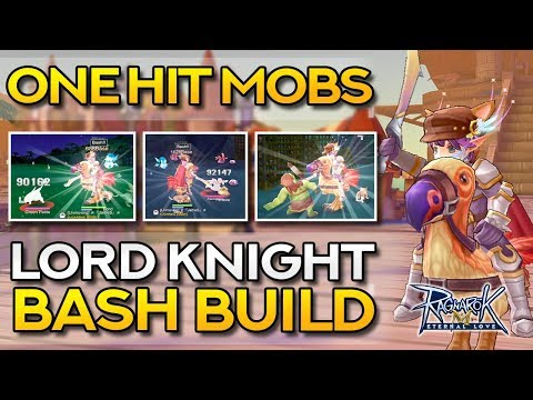 LORD KNIGHT BASH BUILD ONE HIT GUIDE | Ragnarok Mobile Eternal Love