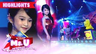 Gambar cover Avi Moldez showcases her version of 'Lava Walk'   It's Showtime Mini Miss U