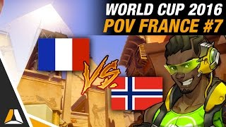 FRANCE vs NORVÈGE #1 ► ANUBIS (POV SUPPORT) - OVERWATCH WORLD CUP 2016