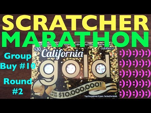 SCRATCHER MARATHON!!! Group Buy 10 Round 2