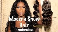 Unboxing BRAZILIAN LOOSE WAVE  | Modern Show Hair via Aliexpress
