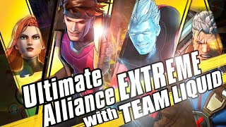 Marvel VS Team Liquid | Marvel Ultimate Alliance 3: The Black Order Gameplay