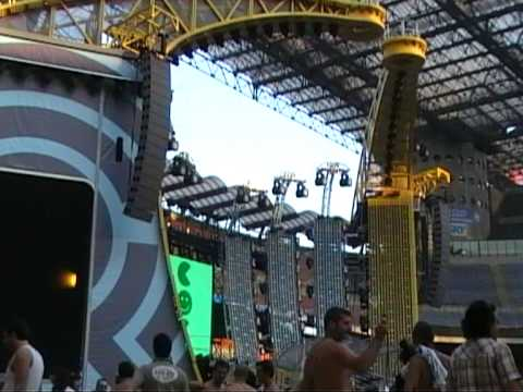 Robbie Williams Close Encounters Tour 2006 San Siro Milan