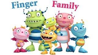 Nursery Rhymes Lyrics collection / Hugglemonster Finger Family