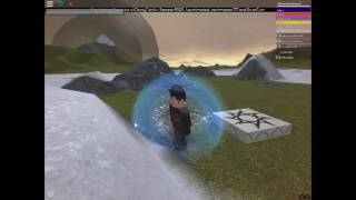 ROBLOX Lightsaber testing + Guy ragequits