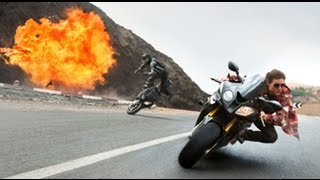 Tom Cruise doet bizarre motorstunt in nieuwe Mission: Impossible