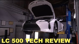 homepage tile video photo for Lexus LC 500 Technical Review