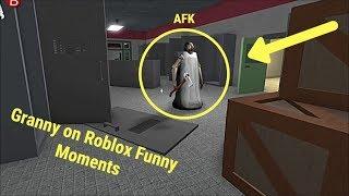 Granny on Roblox Funny Moments | Roblox Xbox One