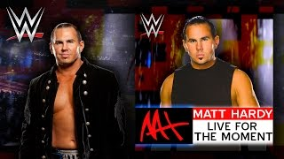 "WWE: ""Live For The Moment"" (Matt Hardy) Theme Song + AE (Arena Effect)"